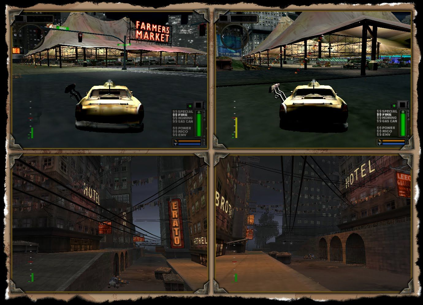 Twisted Metal Black 2 Harbor City Ps2 Cancelled