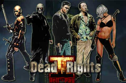 Dead To Rights 2 Hell To Pay PS2 XBOX Beta Unseen64