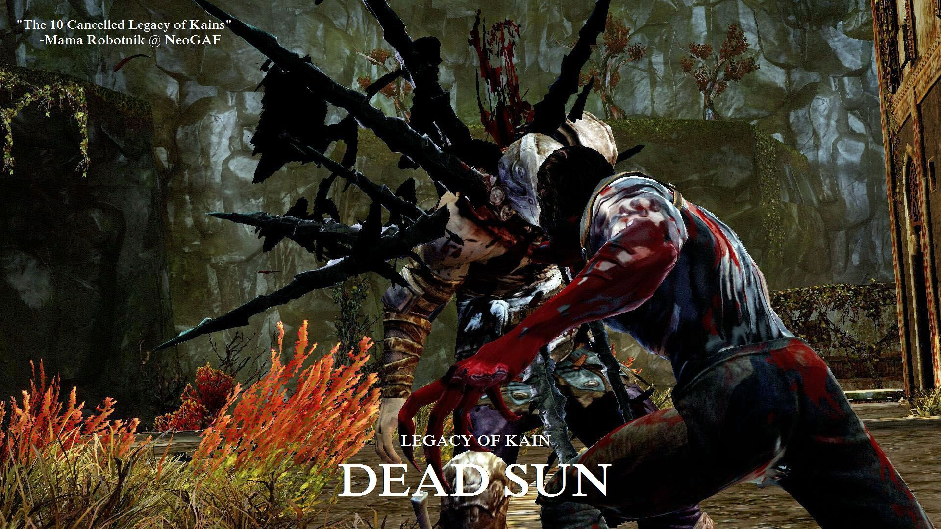Dead Wallpaper With Quotes Legacy Of Kain Dead Sun Cancelled Ps3 Xbox 360 Pc