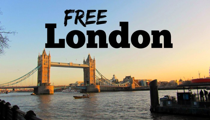 10+ Free Things to Do in London