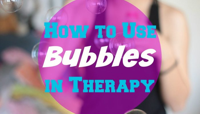 Coping Skills: Using Bubbles in Therapy