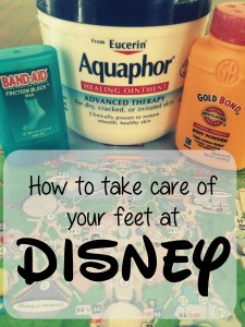 Disney Foot care