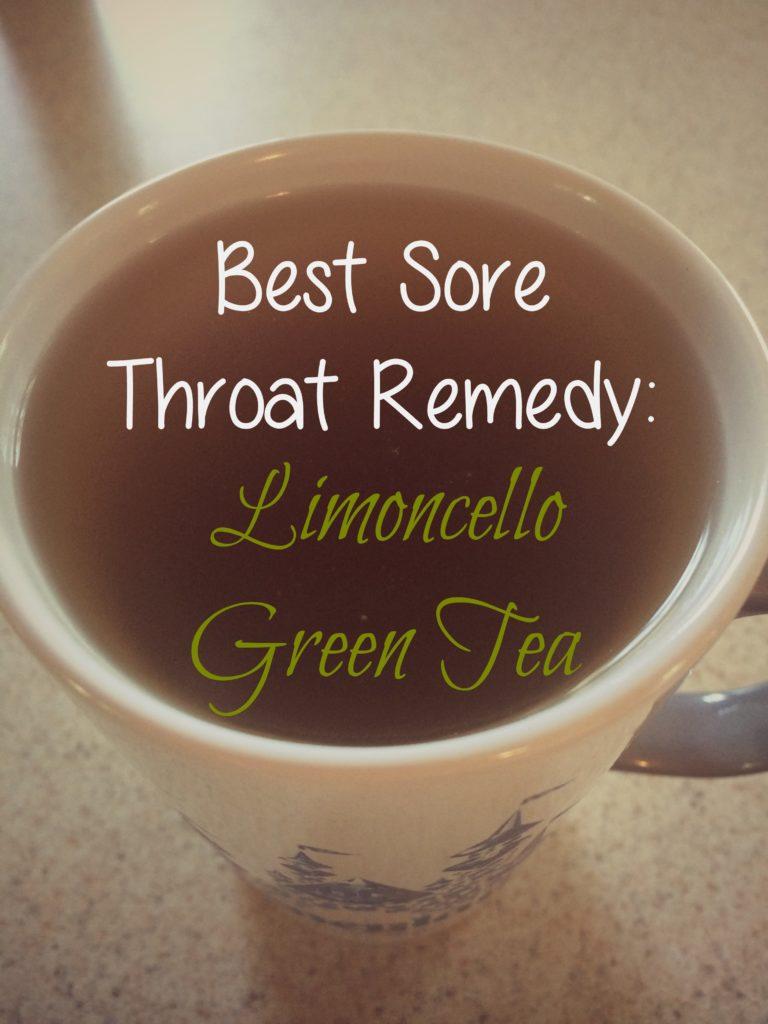 Limoncello green tea