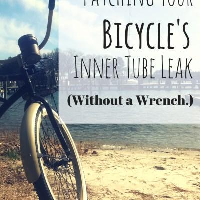 bike inner tube leak