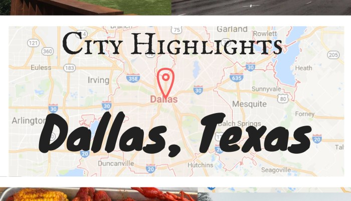 Dallas: City Highlights for a Weekend Getaway