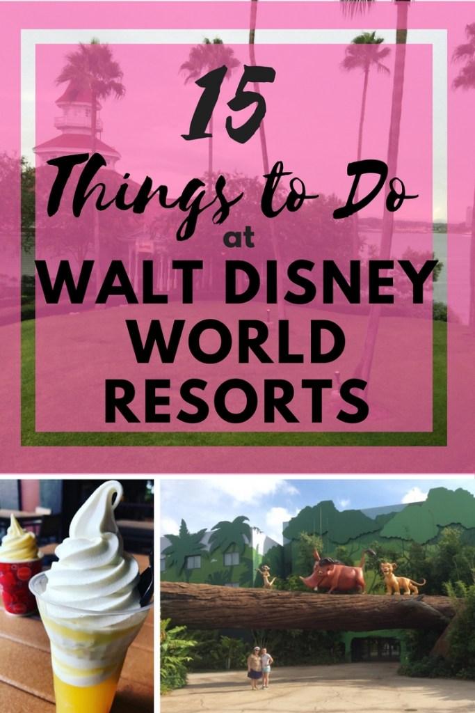 Disney world resorts pin