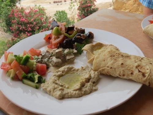 Hummus und Baba Ganush