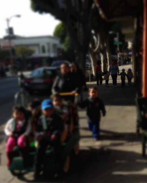 Nannies with pre-schoolers on 24th Street