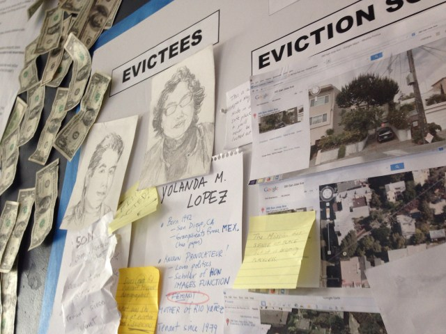 Eviction Scene Investigation, Red Poppy Art House, June 2014