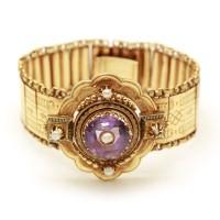 Bracelet Napoléon III - Améthyste