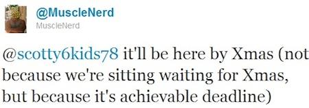Tweet de MuscleNerd qui annonce la sortie du Jailbreak 4.2