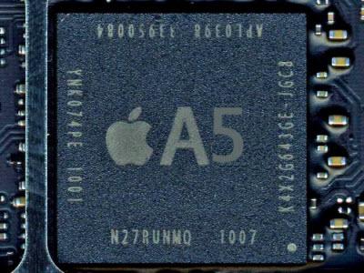 L'iPhone 5 sera doté du CPU Dual Core A5 comme l'iPad 2