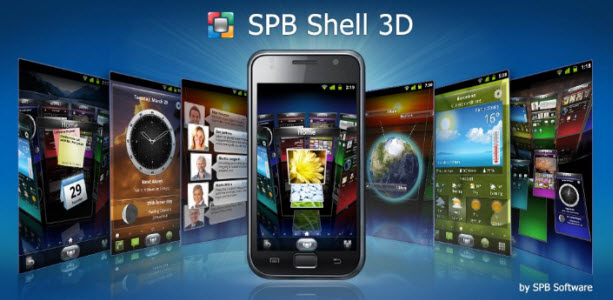 SPB Shell 3D, une interface 3D pour Android