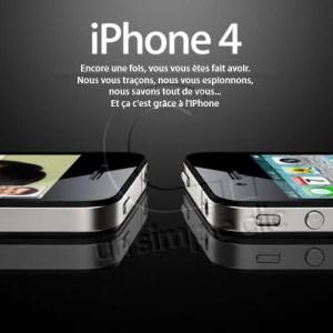 L'iPhone vous espionne!