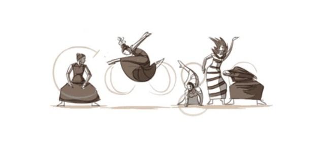 Doodle pour le 117ème anniversaire de Martha Graham