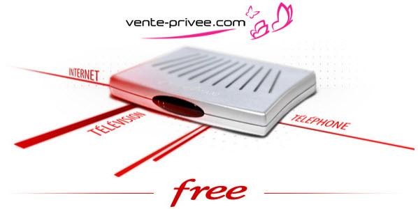 Free de retour sur Vente-Privee.com
