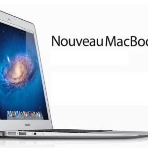 Les nouveaux MacBook Air