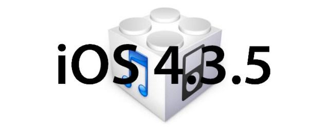 iOS 4.3.5
