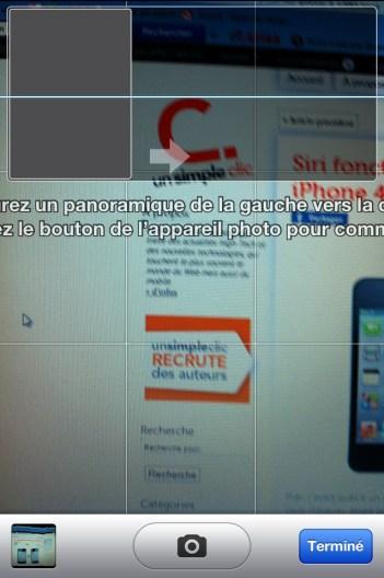 iOS 5 : comment activer le mode panorama même sans jailbreak!