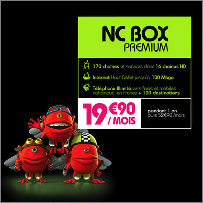 Numériable est sur Vente-Privee.com - NCBOX PREMIUM HD
