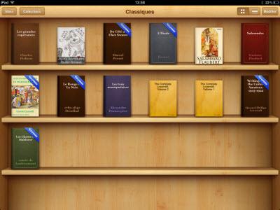 iBooks 1.5 : la nouvelle version du lecteur ebook d'Apple