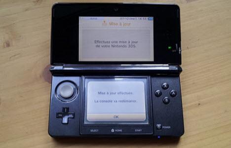 La nouvelle mise à jour de la 3DS est enfin arrivée !