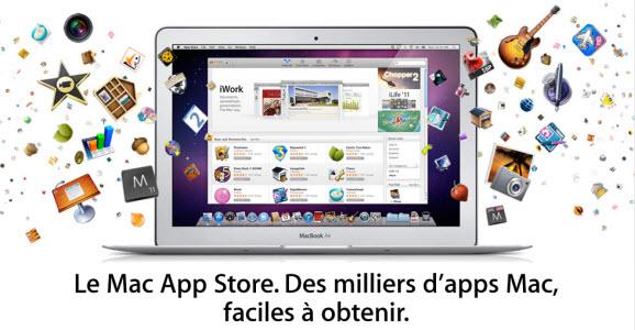 Mac App Store : le cap des 100 millions de téléchargements franchie!