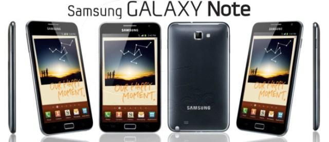 1 million de Galaxy Note écoulés en 2 mois