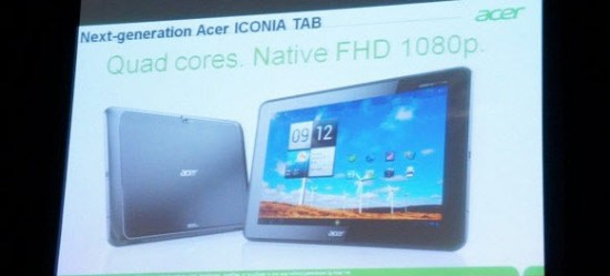 CES 2012 - Acer Iconia Tab