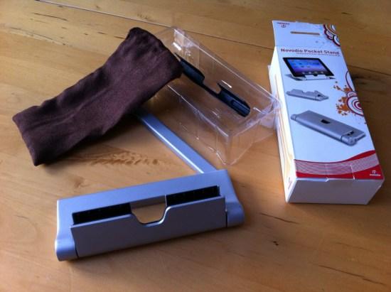 Support de poche pour iPad Novodio Pocket Stand [Test]