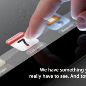 Keynote Apple iPad 3 et Apple TV 3 du 7 mars en direct Live à 19h