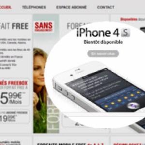 Free Mobile : l'iPhone 4S arrivera au cours du mois de mars
