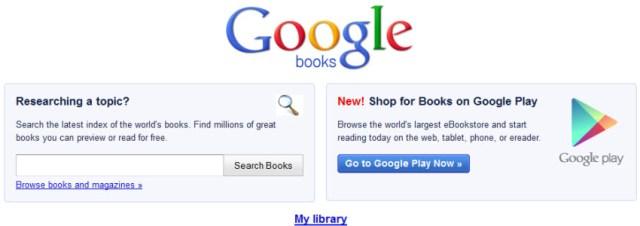 Google Play : bientôt l'intégration de Google Books
