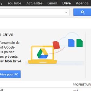 Google Drive remplace Google Documents pour ceux ayant choisis ce nouveau service
