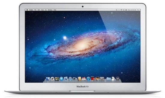 Les MacBook Air version 2012