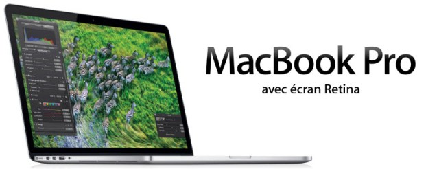 Les MacBook Pro version 2012