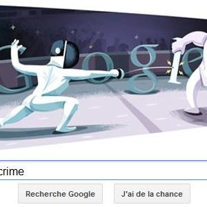 #Londres2012 - Google met à l'honneur l'escrime