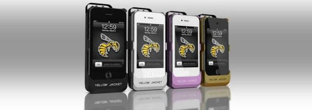 Yellow Jacket - Transformez votre iPhone en taser!