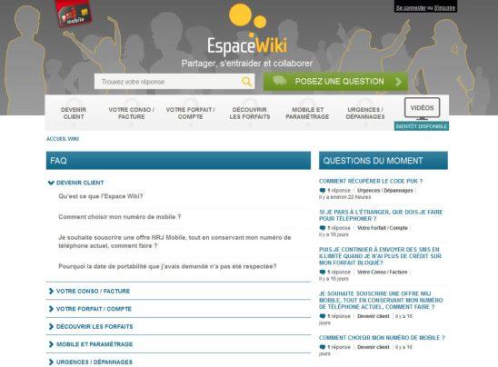 #NRJMobile lance son offre de forfaits sans engagement Wiki