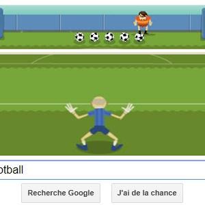 """#Londres2012 - Google met à l'honneur le Football avec un Doodle """"mini-jeu"""""""