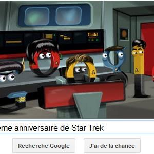 Google fête le 46ème anniversaire de Star Trek