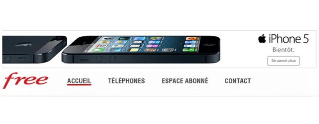 #iPhone5 - Disponible officiellement chez #FreeMobile le 21 septembre!