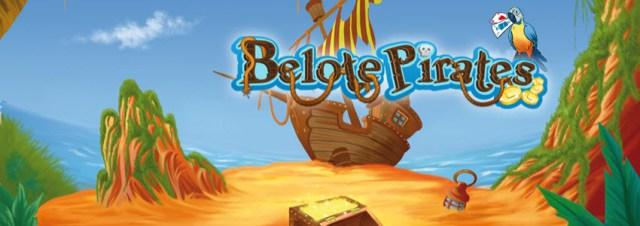 Lancement de l'application gratuite « Belote Pirates » sur Facebook