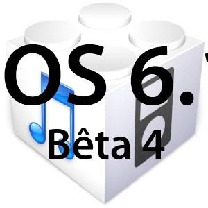 L'iOS 6.1 bêta 4 est disponible pour les développeurs!