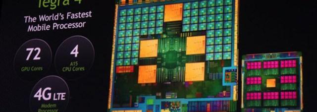 #CES2013 - NVidia officialise le SoC Tegra 4