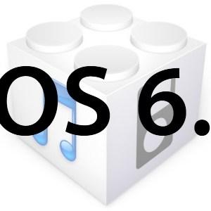 L'iOS 6.1 est disponible au téléchargement!