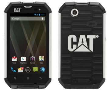 #MWC2013 - Caterpillar présente le CAT B15, un smartphone Android ultra résistant