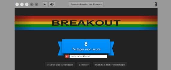 Google fête le 37ème anniversaire de Breakout, le tout premier casse-briques made in Atari [Easter Egg]