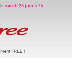 Free de nouveau sur Vente-Privee.com à compter du 25 juin 2013