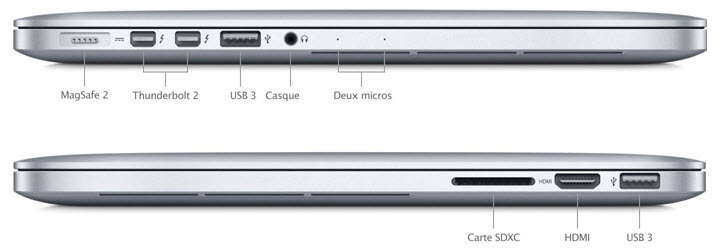 Apple présente ses nouveaux MacBook Pro Rétina 2013